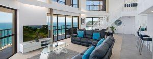 Penthouse accommodation Burleigh Heads