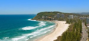 Burleigh Heads beachfront accommodation