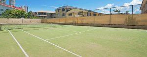 Burleigh Heads tennis courts