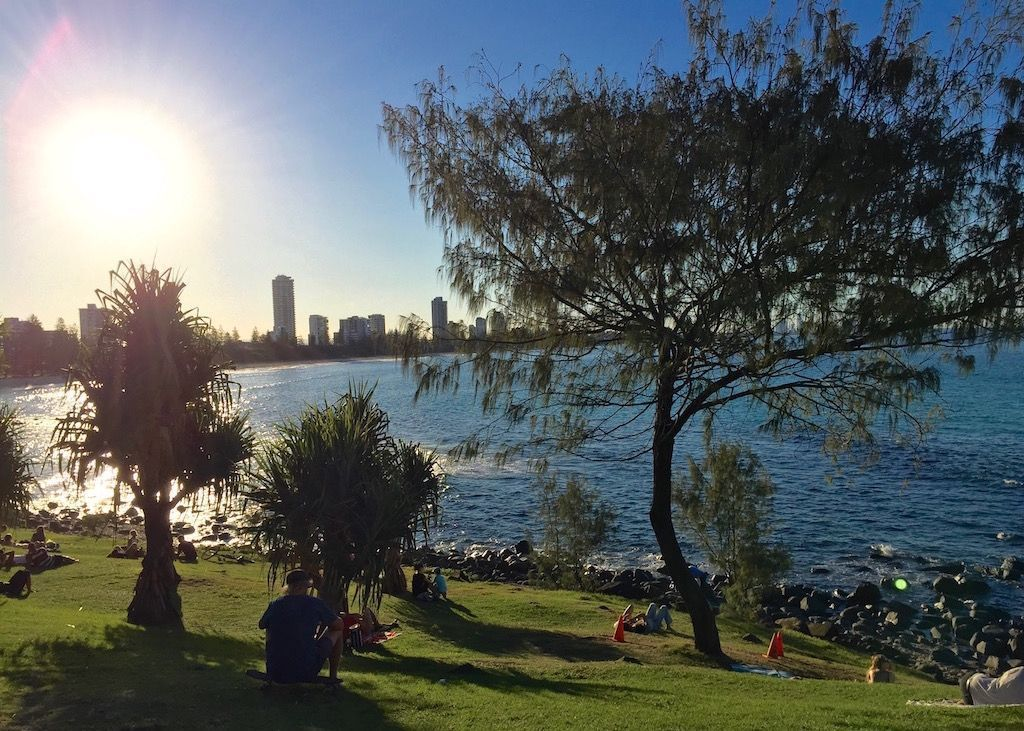 Take a walk to Burleigh Headland