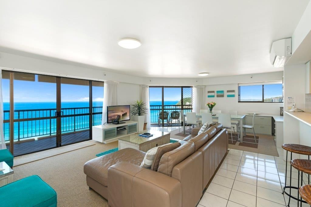 One and two bedroom apartments at Burleigh Esplanade