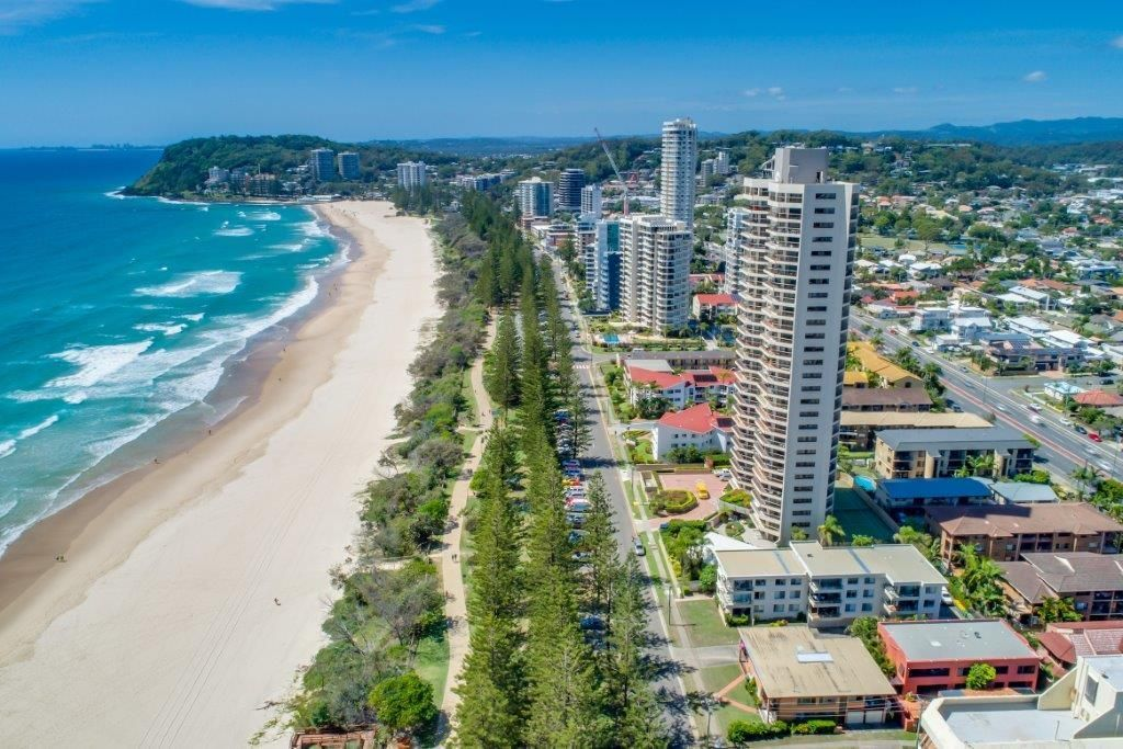 Burleigh Esplanade Apartments Location
