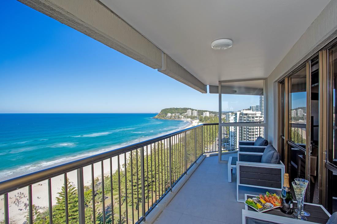 2 bedroom superior balcony view left
