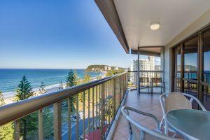 3 bedroom superior balcony view